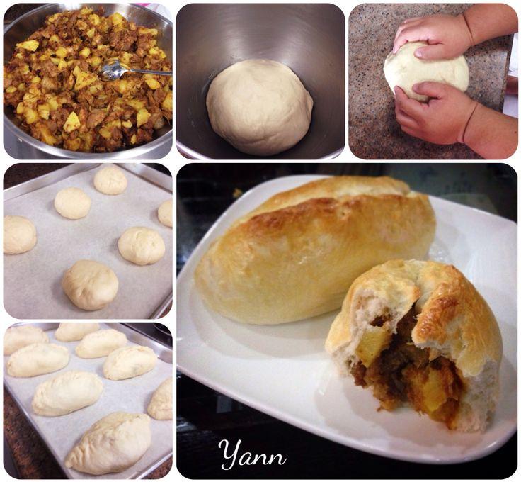 Homemade Curry Pork with Potato Buns are ready!!
