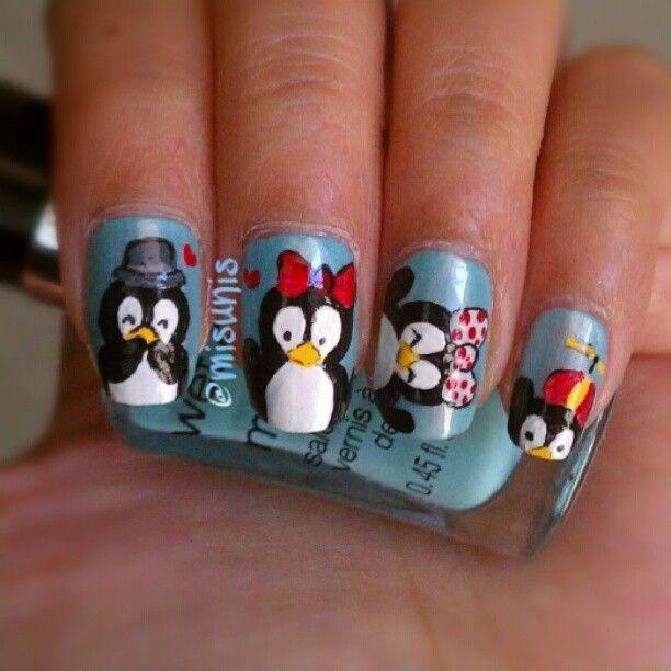 Penguin Nail Art Designs: Best 25+ Penguin Nails Ideas On Pinterest