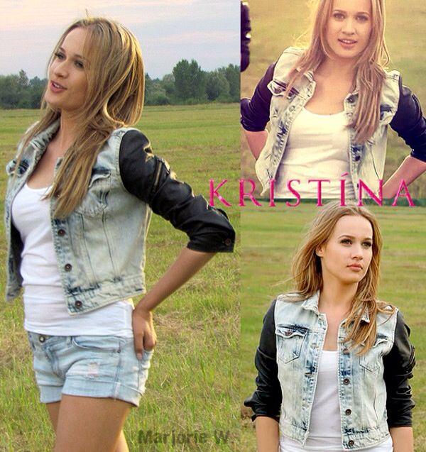 Kristina Pelaková BLOND HAIR