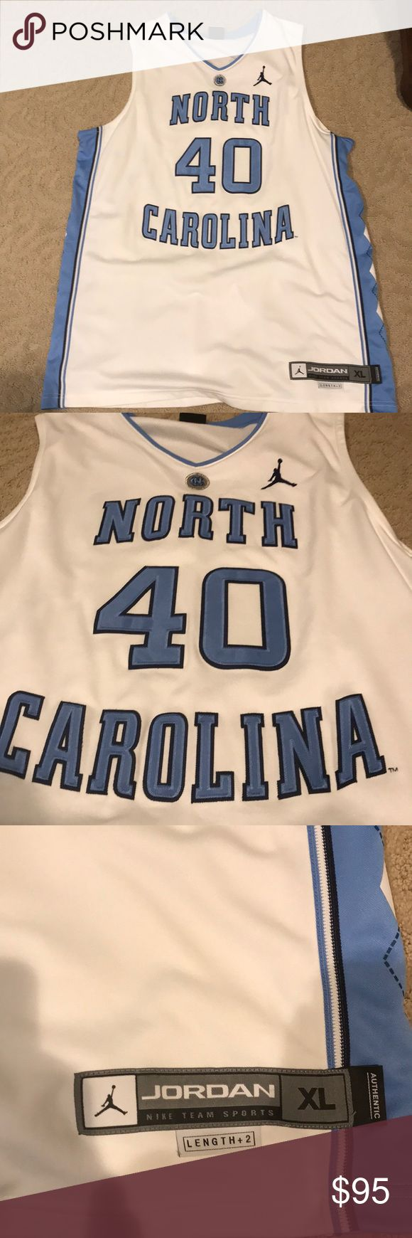 Jordan Brand UNC Harrison Barnes Jersey (men's XL) Never worn, perfect condition. Dri-fit mesh jersey with stitched lettering. Jordan Other