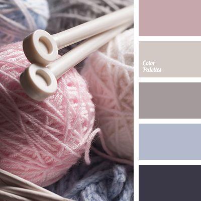 dark blue-violet, dark-blue, gray-brown and pink, light beige, pastel shades…