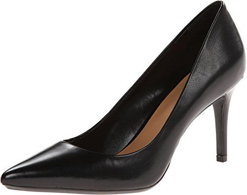 Calvin Klein Women's Gayle Black Pump 8 W - http://all-shoes-online.com/calvin-klein/8-c-d-us-calvin-klein-womens-gayle-dress-pump-cameo-7