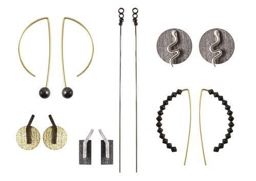 øreringe i minimalistiske former