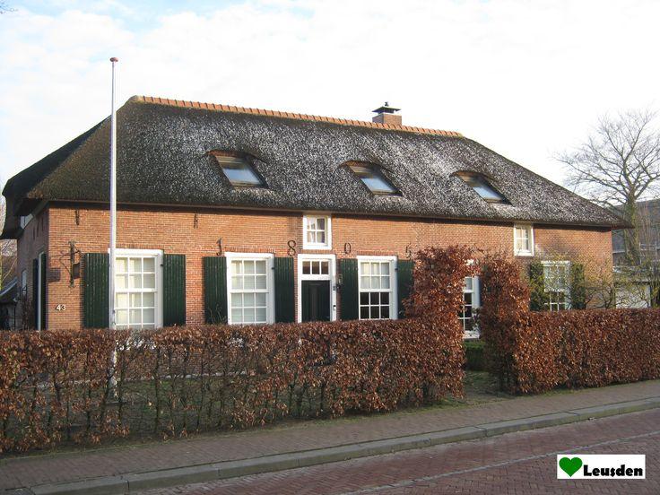 Oude boerderij aan de Hamersveldseweg in het centrum van Leusden