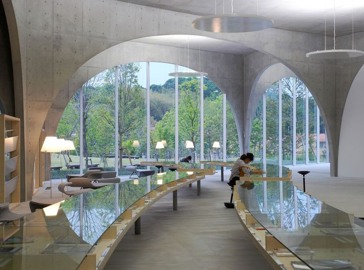 Tama Art University Library by Toyo Ito Associates | http://www.yellowtrace.com.au/lusty-libraries/