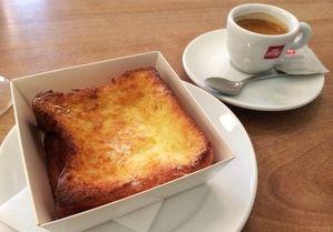【東京・表参道】とろけるフレンチトーストで朝食を--表参道のカフェ&ベーカリー「パンとエスプレッソと」