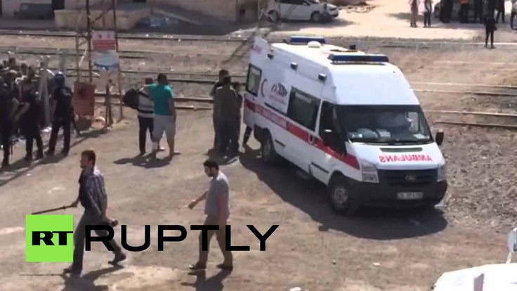 Turkey: Emergency services treat the sick as refugees RETURN to Syria