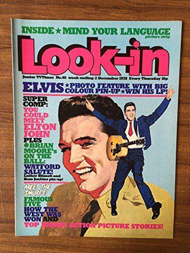 Look-in no 49 Dec 1978 Elvis