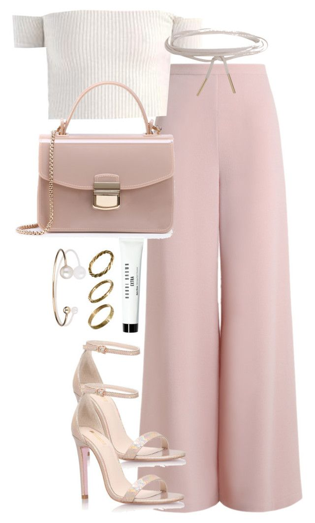 """""""Untitled #2583"""" by theeuropeancloset ❤ liked on Polyvore featuring Zimmermann, Carvela Kurt Geiger, Humble Chic, Bobbi Brown Cosmetics, Made and Letters By Zoe"""