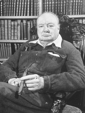 Winston Churchill - Cigar