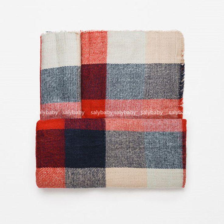 190*80cm Brand Striped Scarf Infinity Pashmina Bufandas Cotton Cashmere Long Scarf Women Scarves Wraps Bandana Hijabs