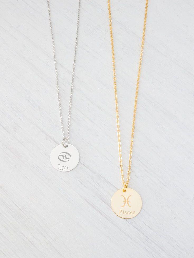 The 25 best cancer zodiac jewelry ideas on pinterest zodiac zodiac necklace constellation necklace jewelry cancer zodiac signs gold silver necklace aloadofball Image collections