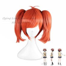 Riddle Story of Devil Ichinose Haru High Quality Double Tail red Cosplay Wig sobretudo feminino perrque synthetic women lady //Price: $US $21.75 & Up To 18% Cashback //     #steampunktendencies