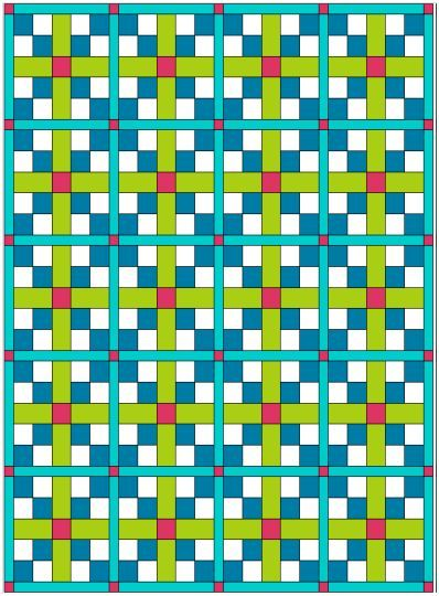 Wood Valley Designs 5 Yard Patterns ~ Love plaids - this looks fun to make!