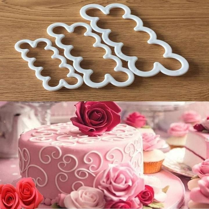 Flower PetalSilicone Fondant Cake Chocolate Decorating Baking Mould Mold Tool Nu