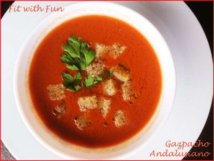 🍅 Original Andalusian Gazpacho: Frozen Veggie Smoothie 🍅 🍅 Gazpacho…