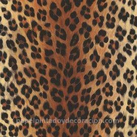 Papel pintado piel de leopardo PDW9663016 imágenes