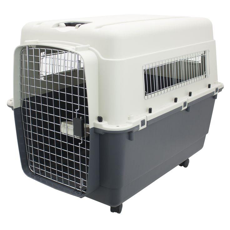 Kennels Direct Premium Plastic Dog Kennel, XXL, Beige