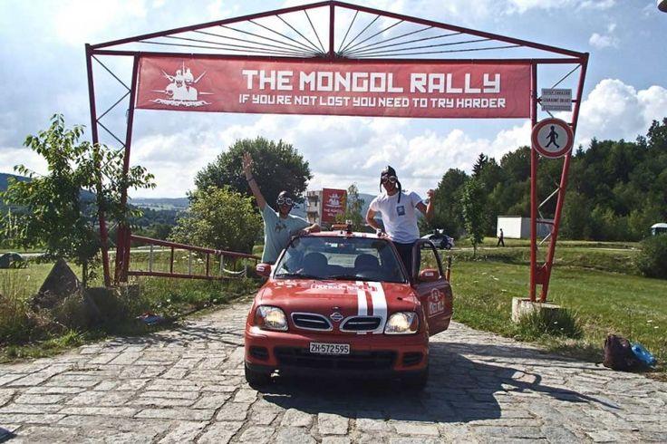ΕΚΚΙΝΗΣΗ ΓΙΑ ΤΟ MONGOL RALLY 2014