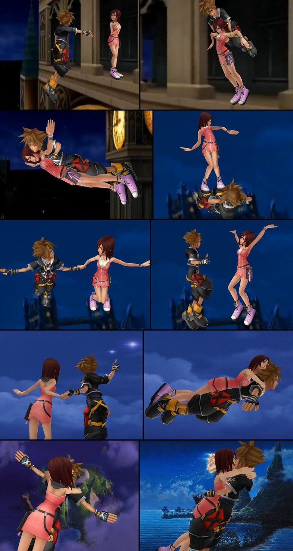 Sora and Kairi in Neverland by SorasPrincesss