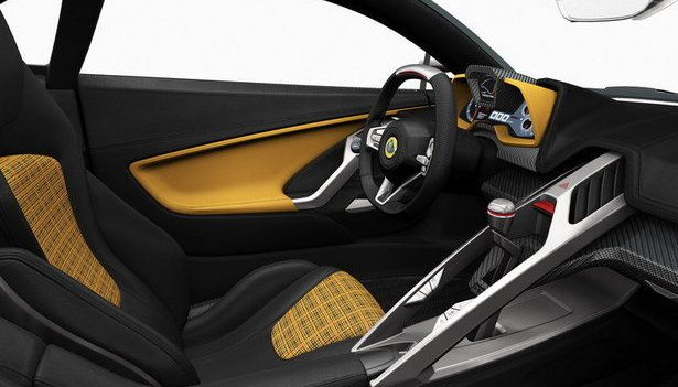 2015 Lotus Elise - interior