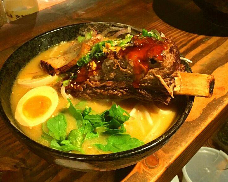 Rib Ramen @Meijin Ramen On 2nd Ave. BTW 81st&82nd NY. Upper East Side...#UES , #Japanese , #noodle