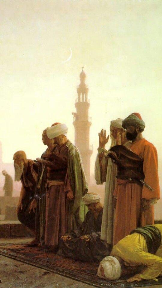 Prayer in cairo
