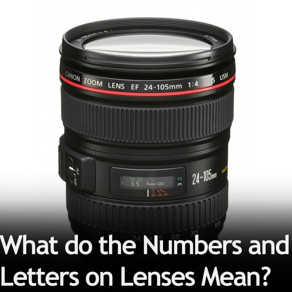 What do the Numbers and Letters on Lenses Mean? » Expert Photography