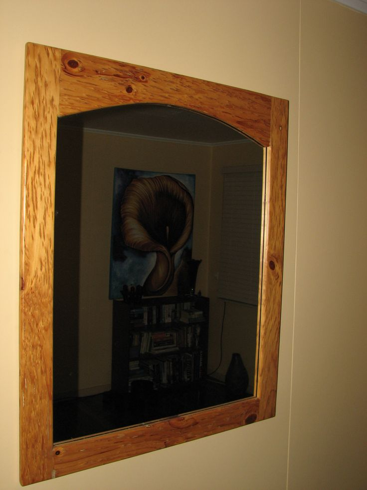 Radiata Pine Timber Mirror - VRDBespoke