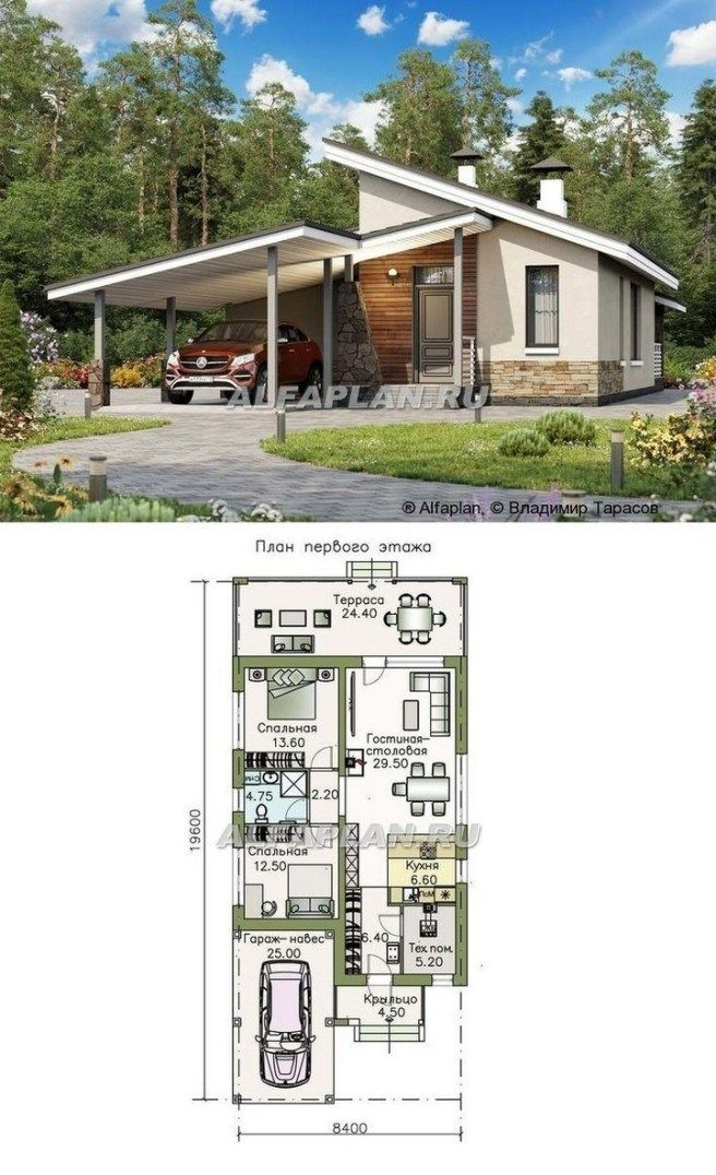 Home Design Plan 10x8m 3 Bedrooms With Interior Design 16 House Projects Architecture Architectural Design House Plans Home Building Design