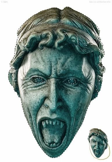 Printable Weeping Angel Mask Great For Revenge On Annoying Co-Workers... or your 9yo daughter's halloween costume...