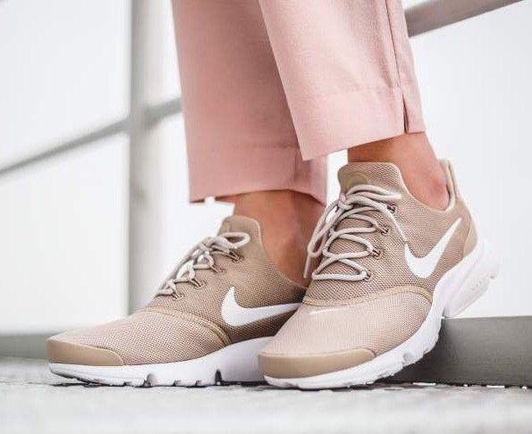 wholesale dealer 90217 12400 Nike Presto Fly 910569-201 Dessert Sand White Womens Sportswear Running  ShoesDessertNikePresto