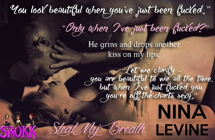 Steal My Breath by Author Nina Levine #ForTheFirstTimeAnthology