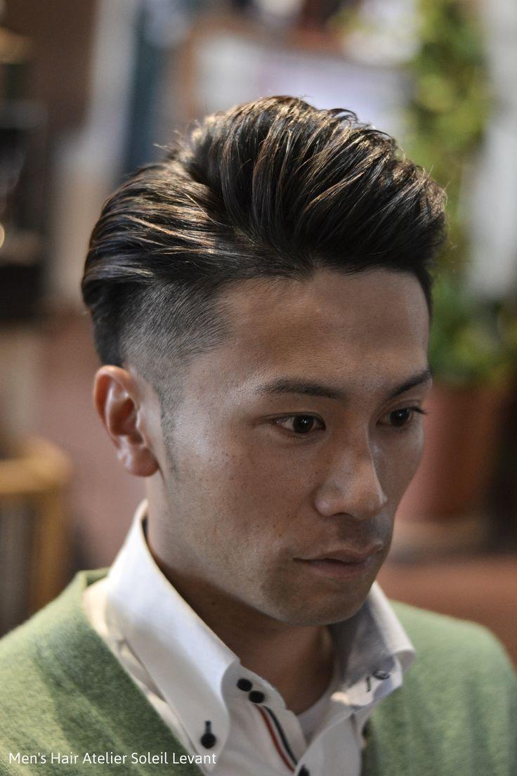 ツーブロック 刈り上げ 髪型 メンズ 岡山 倉敷