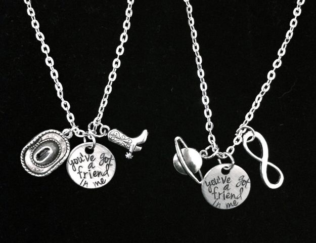 You've Got A Friend In Me Toy Story Necklaces