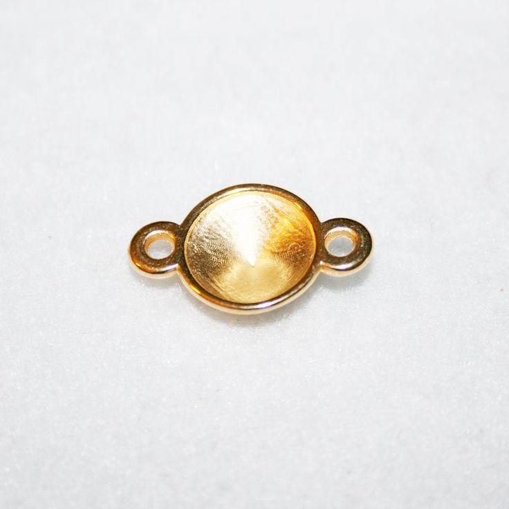 Pieza zamak baño dorado. La encontrás en nuestra tienda online.