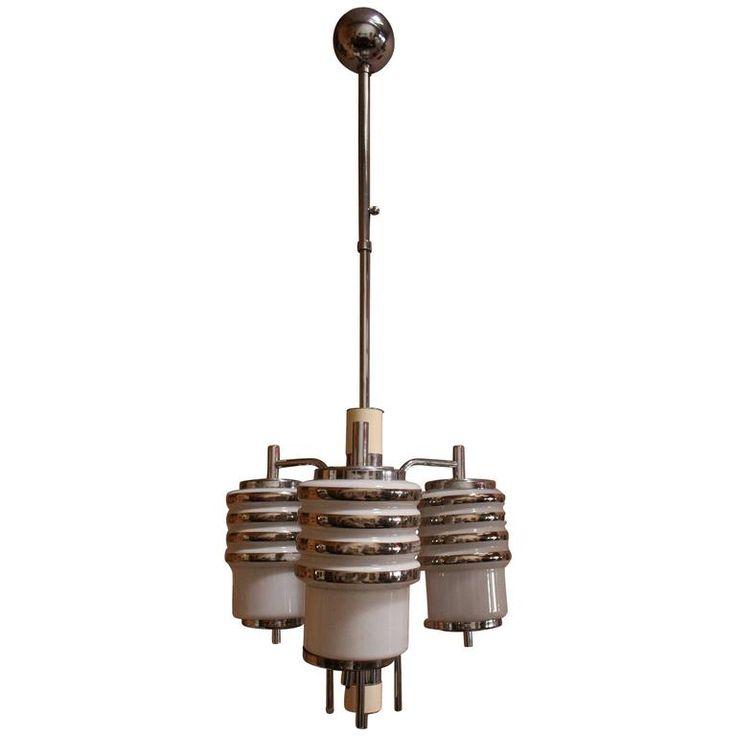 Art Deco Italian Chandelier | 1stdibs.com