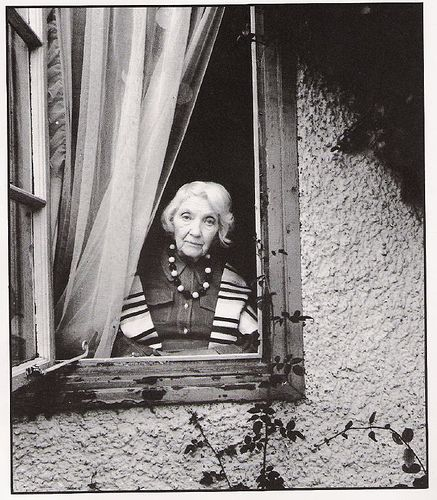 Jean Rhys by Bill Brandt (1975)