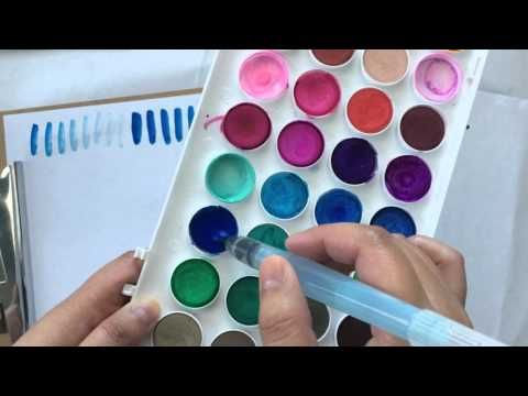 Favourite Water Brush Lettering YouTube Tutorials for Beginners