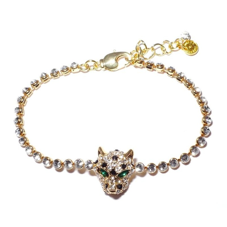 Butler & Wilson Crystal Leopard Bracelet