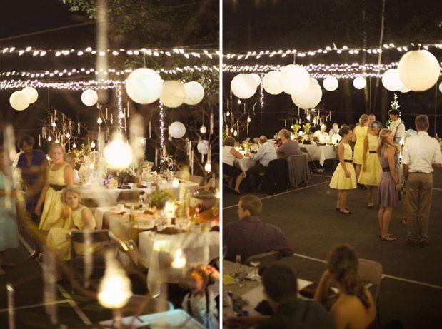 1000+ ideas about Tennis Court Wedding on Pinterest   Yard Wedding ...