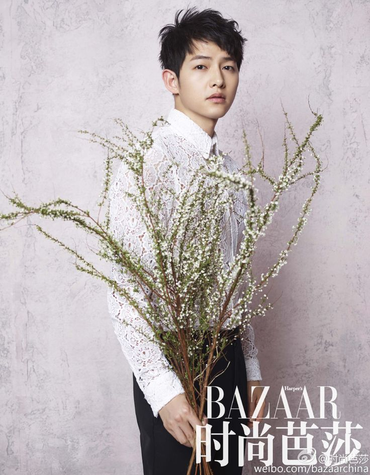 Song Joong Ki - Harper's Bazaar China Spreads