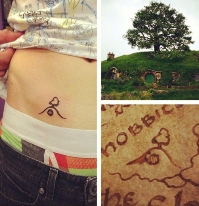 As 25 melhores ideias de fandom tattoos no pinterest for Minimalist house tattoo