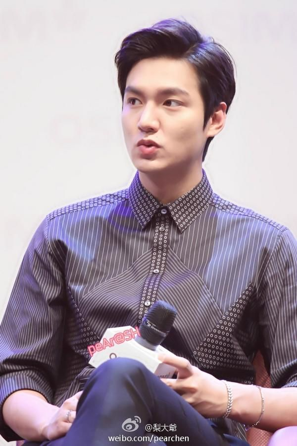 Lee Min Ho - Osim Event in Shanghai 140910