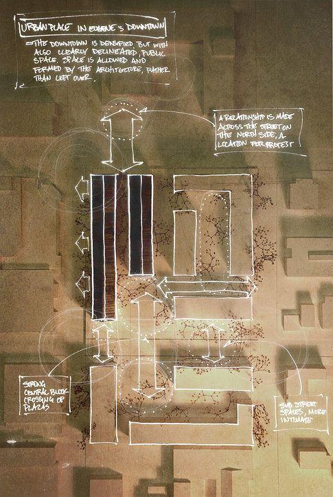如何画出高端大气的建筑设计方案分析图? - 知乎
