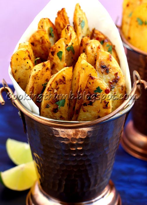 Baked Spicy Potato Wedges