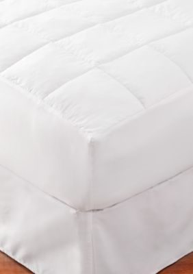Home Accents  Healthy Home Asthema And Allergy Friendly Mattress Pad - White - Twin Xl