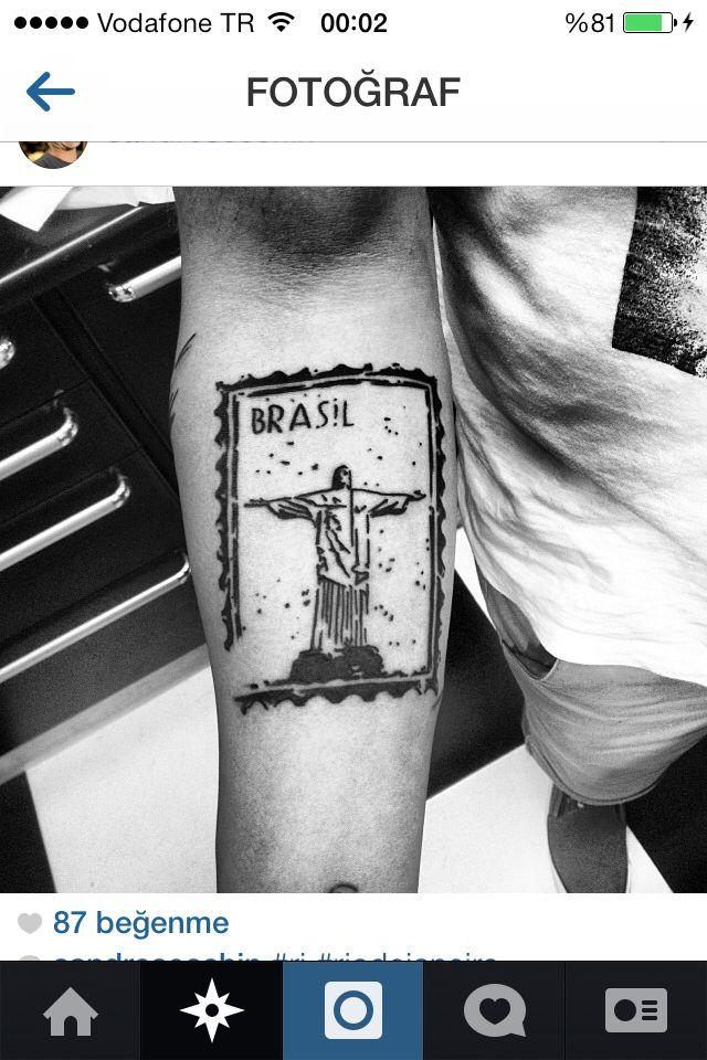 Jesus tattoo brazil rio de janeiro