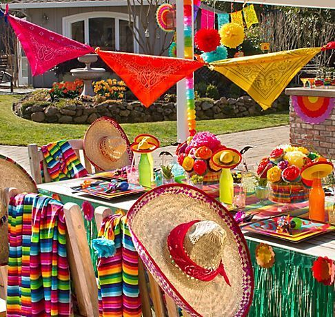 Mexican Themed Wedding Decorations