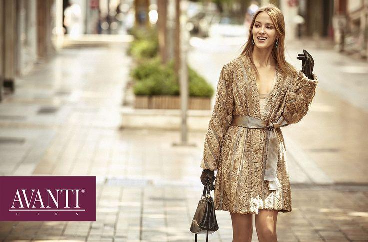 AVANTI FURS - MODEL: ABELINE 2 SWAKARA JACKET with Leather details   #avantifurs #fur #fashion #swakara #luxury #musthave #мех #шуба #стиль #норка #зима #красота #мода #topfurexperts